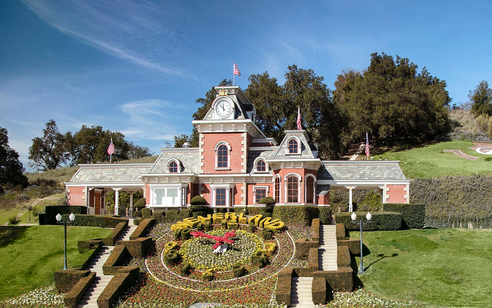 Neverland back on the market