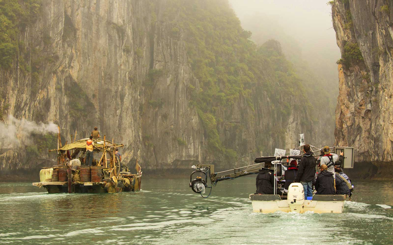 On Location in Vietnam with Jordan Vogt-Roberts, director of Kong: Skull Island