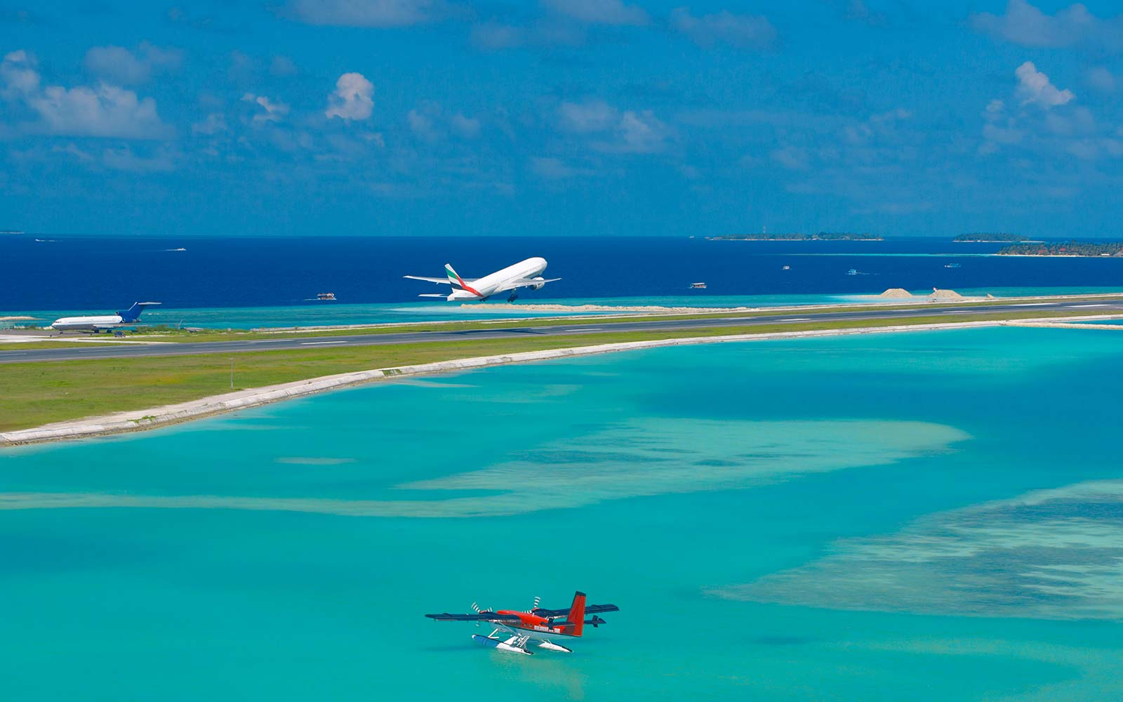 Male International Airport, Maldives
