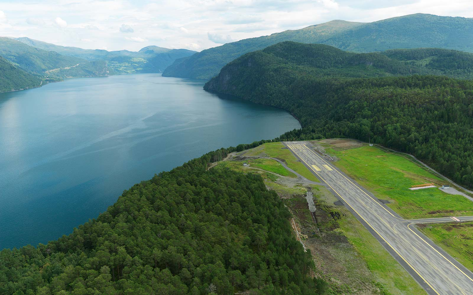 Sandane Airport, Norway