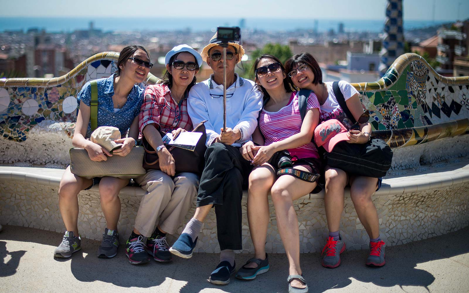 Barcelona pushing away tourists