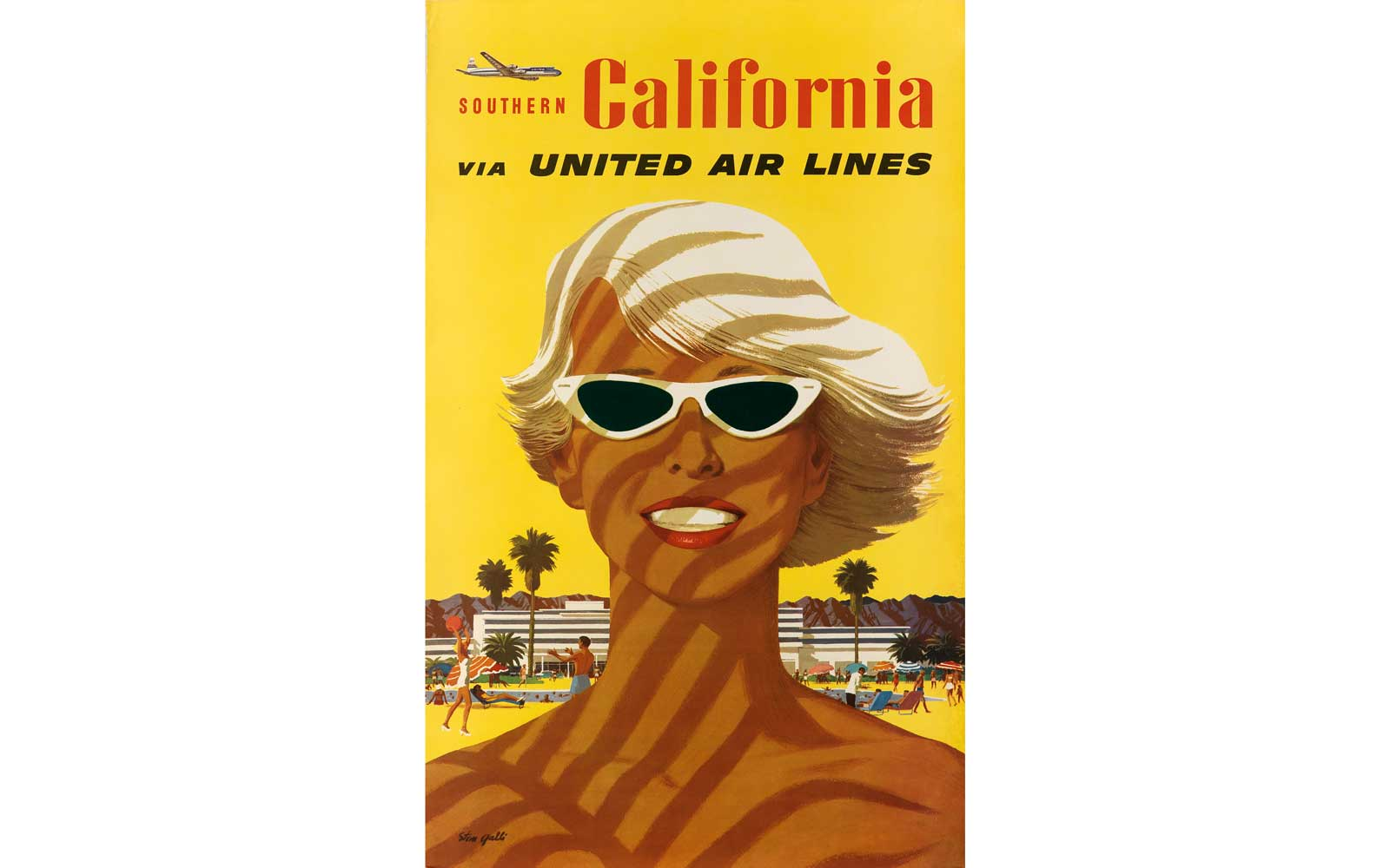 Southern California Via United Airlines