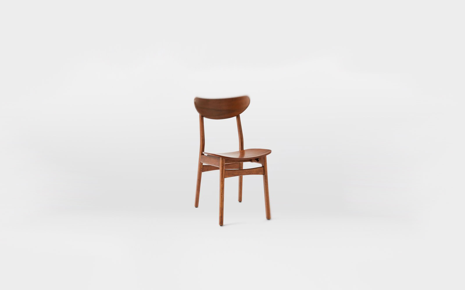 Classic Café Dining Chair, Walnut