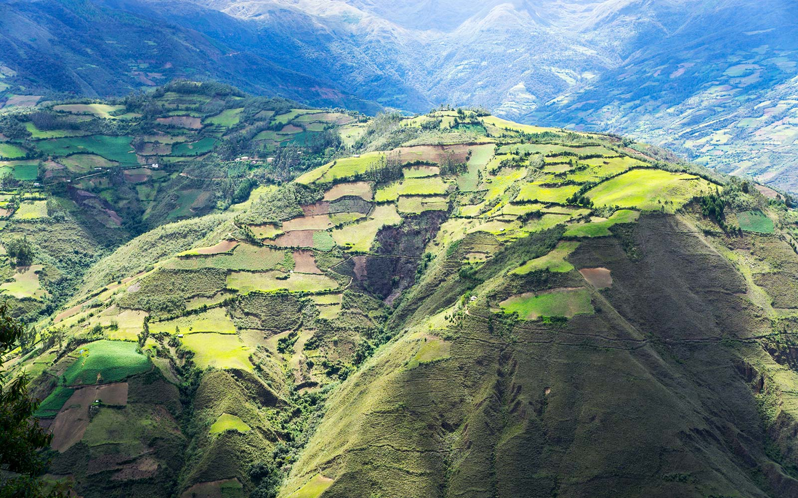Kuelap Peru aerial lost city tourism