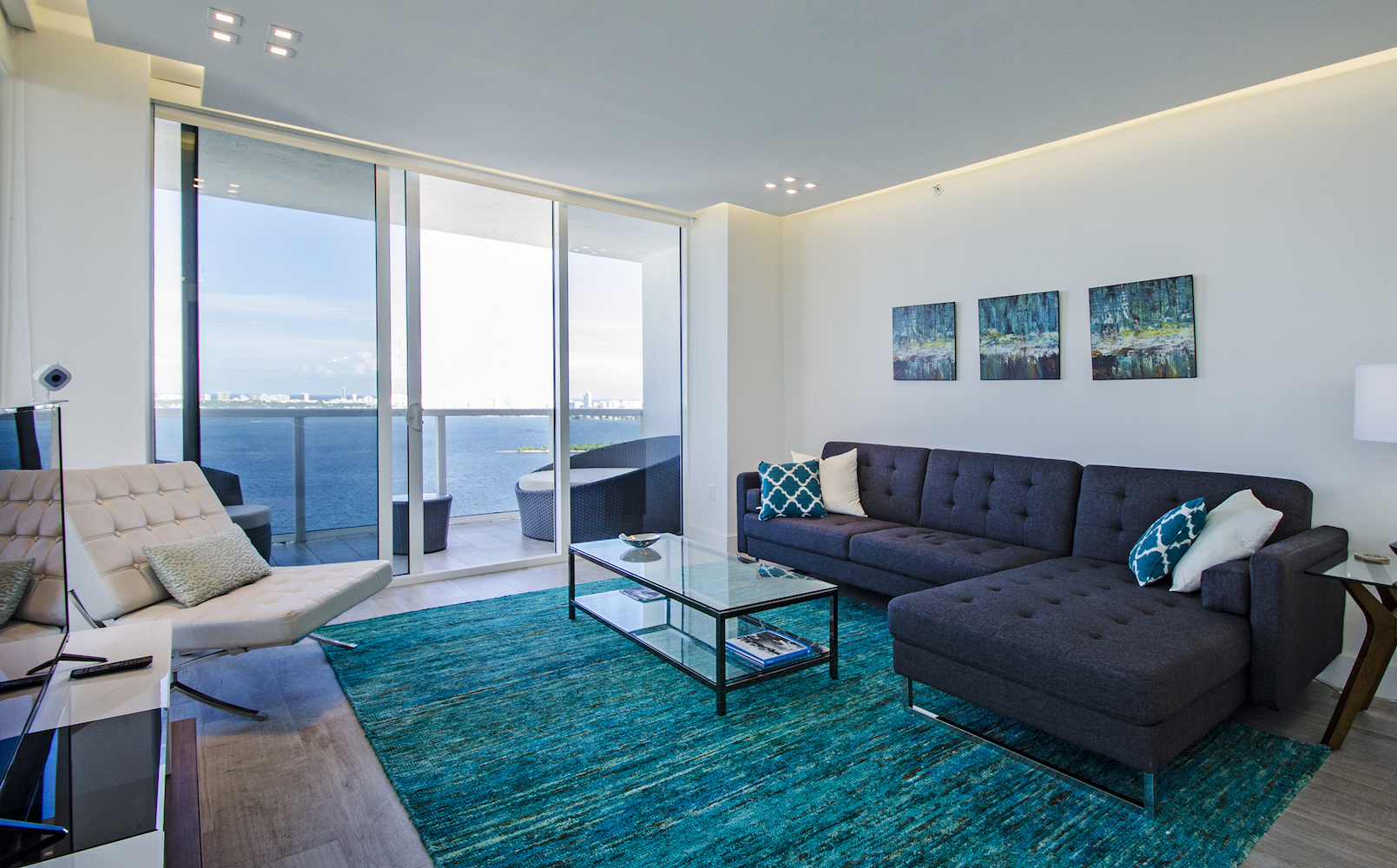Inside the Baia apartment in Miami couresty of Oasis