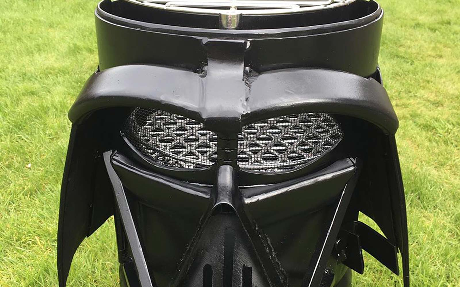 Burned by Design Darth Vader Helmut Grill