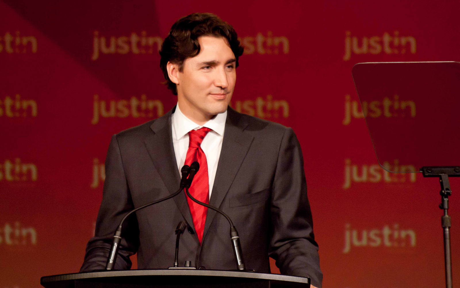 Justin Trudeau Can Now Be Yours—with Just 3 Easy Payments of $32.27