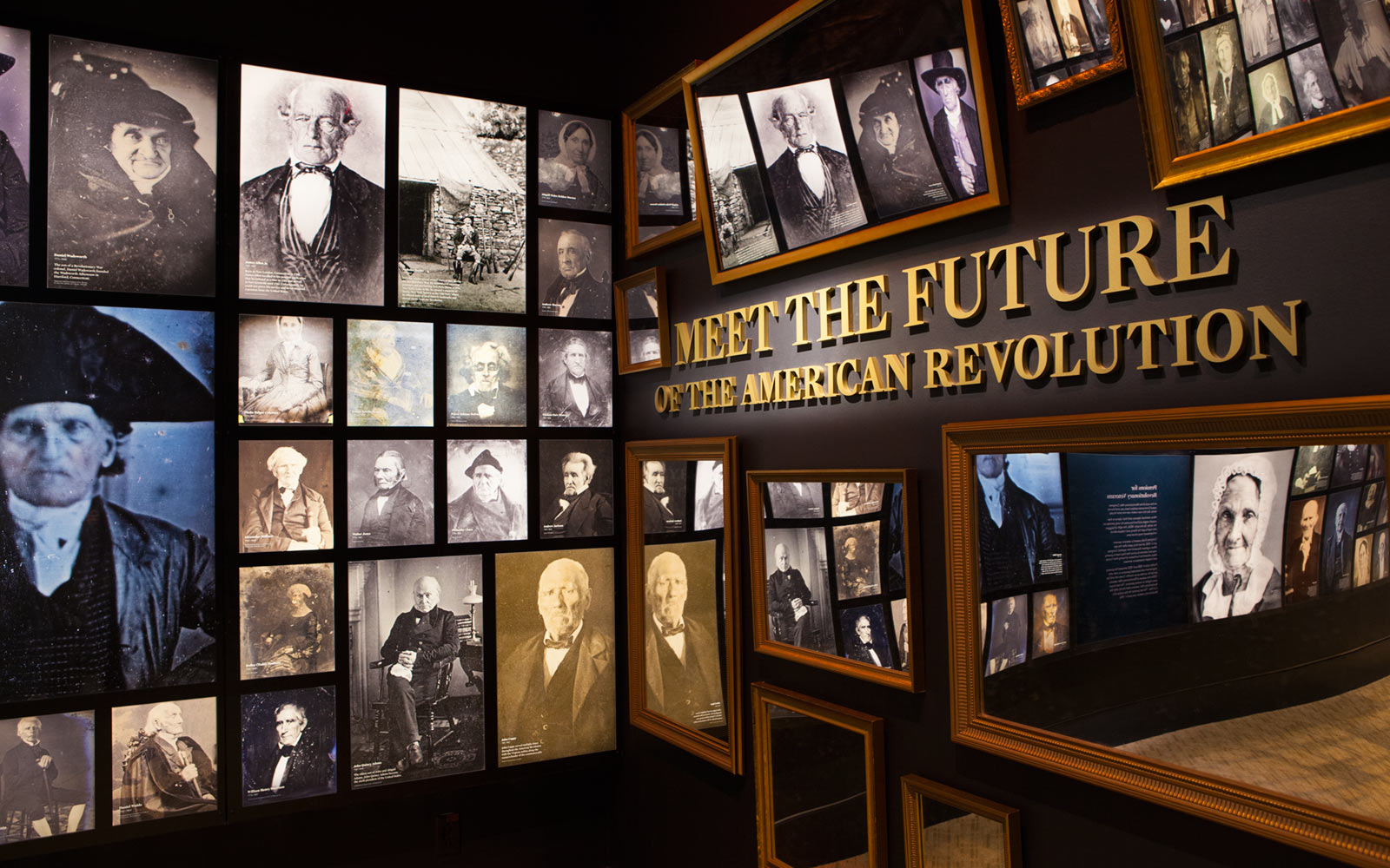 Photographs of People from the Revolution, Museum of the American Revolution, Philadelphia, Pennsylvania