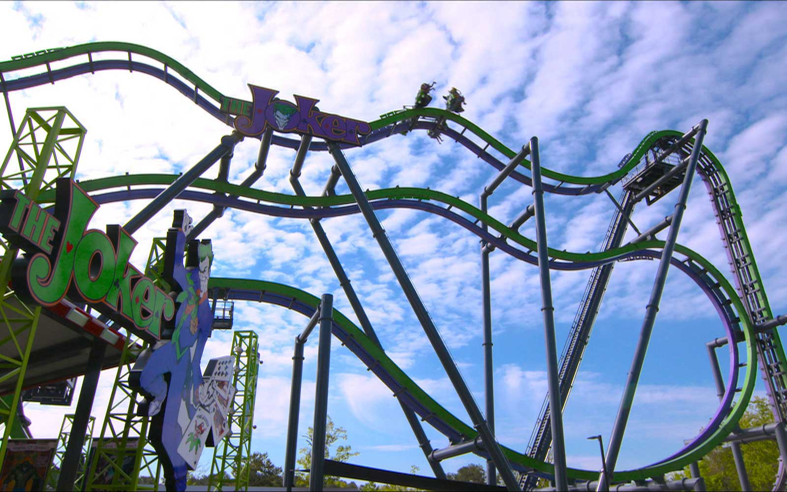 Six Flags Joker Coaster