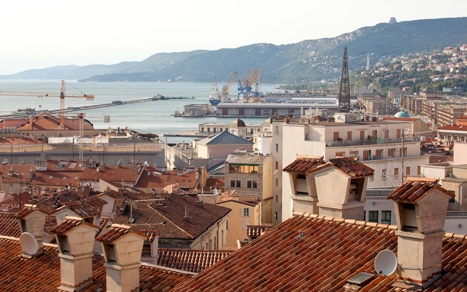 Rooftop View of Trieste Italy