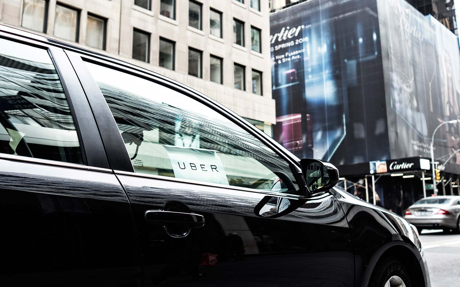 Uber Car New York City