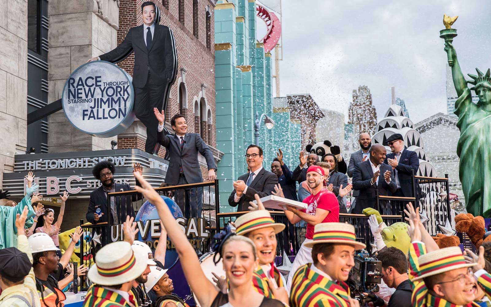 Universal Studios Orlando — Race Through New York Starring Jimmy Fallon