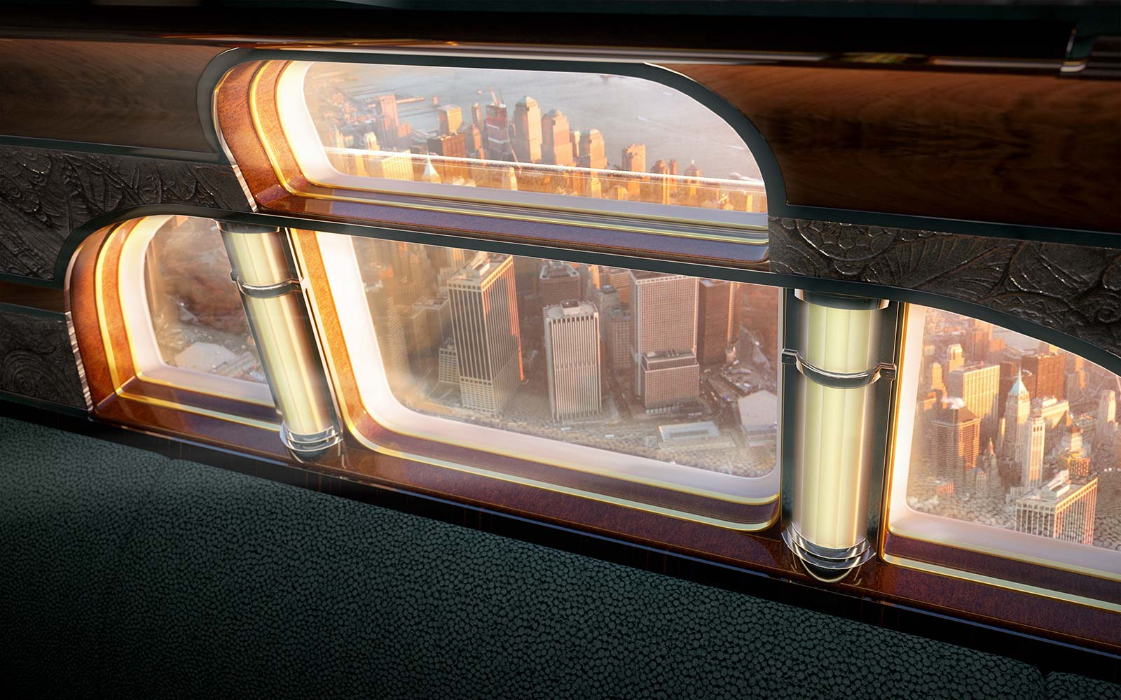 View from Art Deco Plane