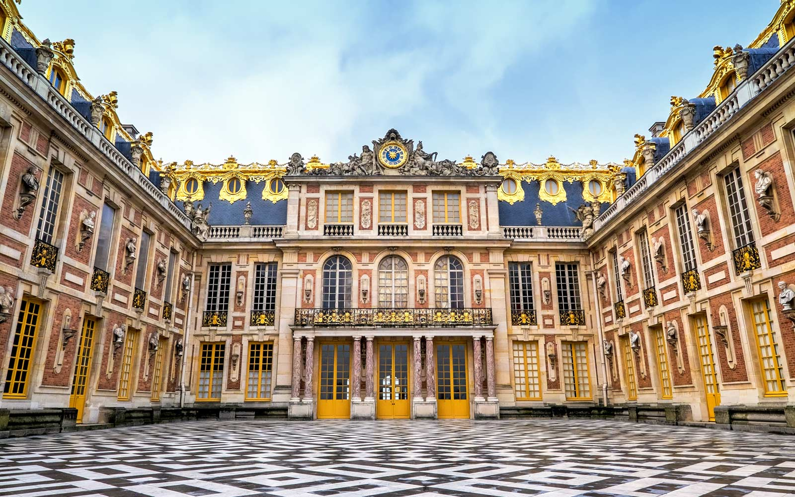 Palace of Versailles, Franch