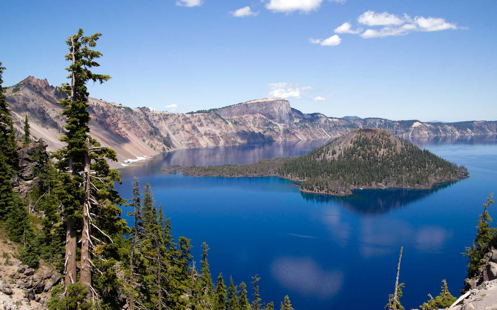 Crater Lake Oregon in the United States