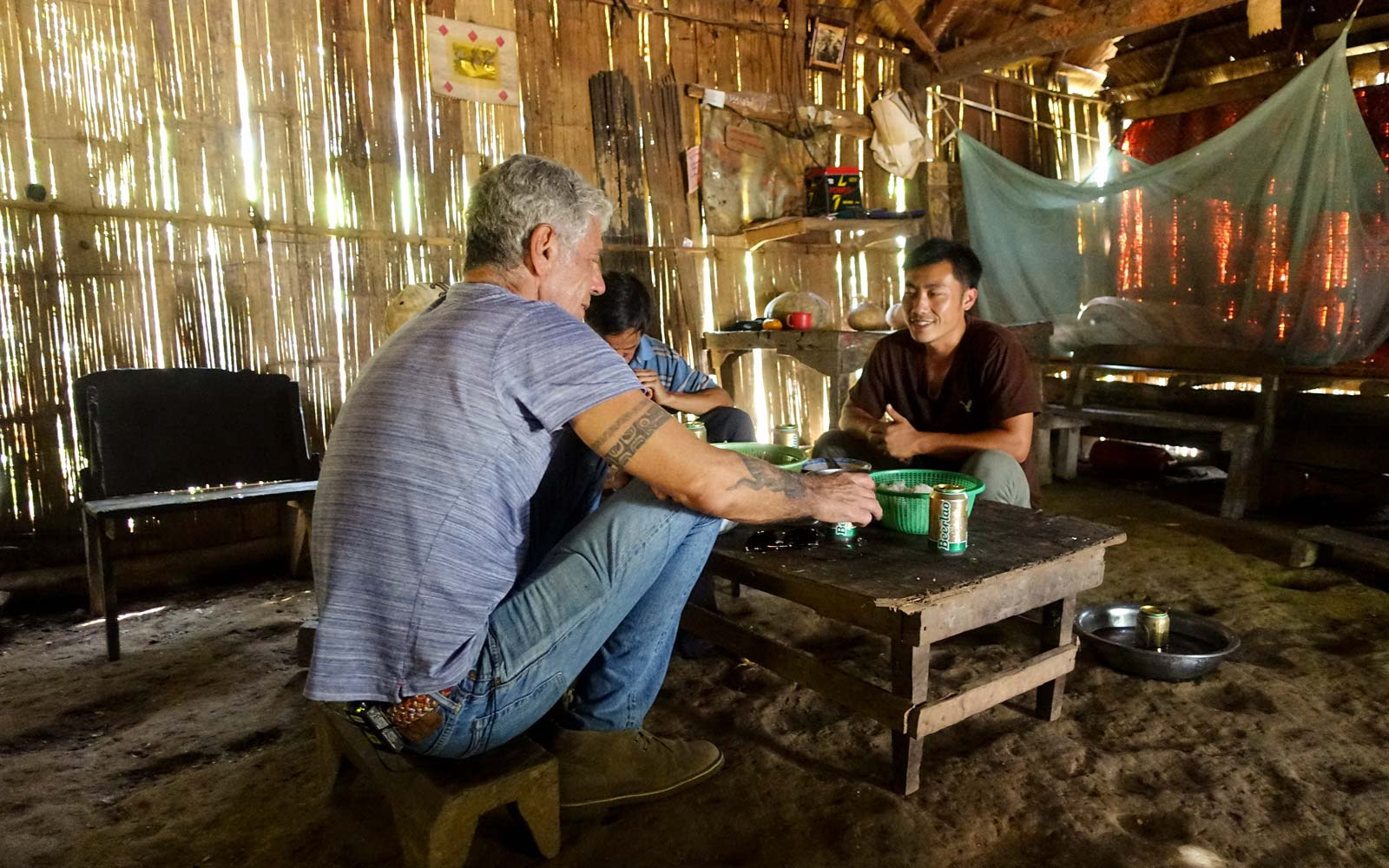 Anthony Bourdain in Laos