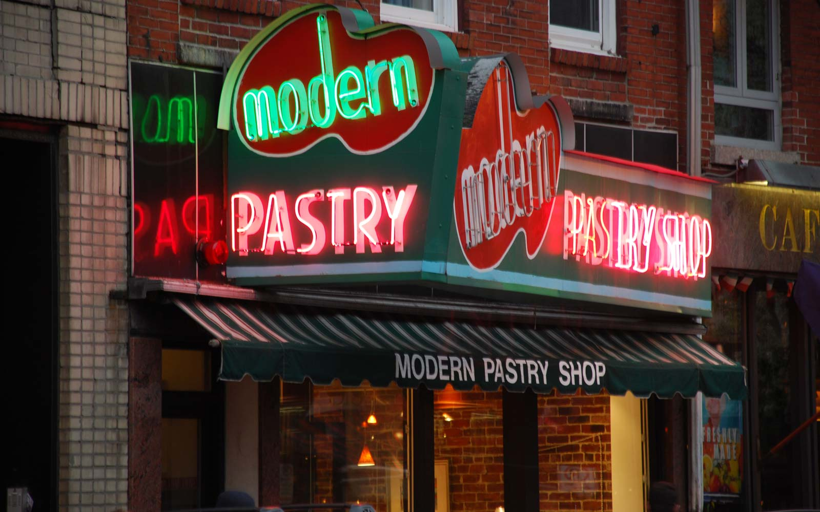 Modern Pastry in Boston's North End