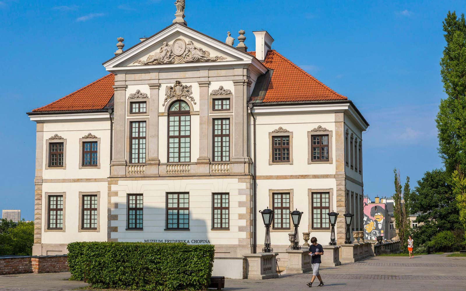 Chopin House in Warsaw