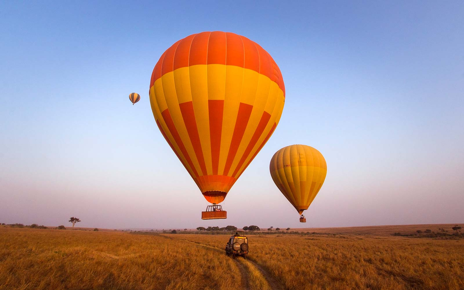 Masai Mara Hot Air Balloon Kenya
