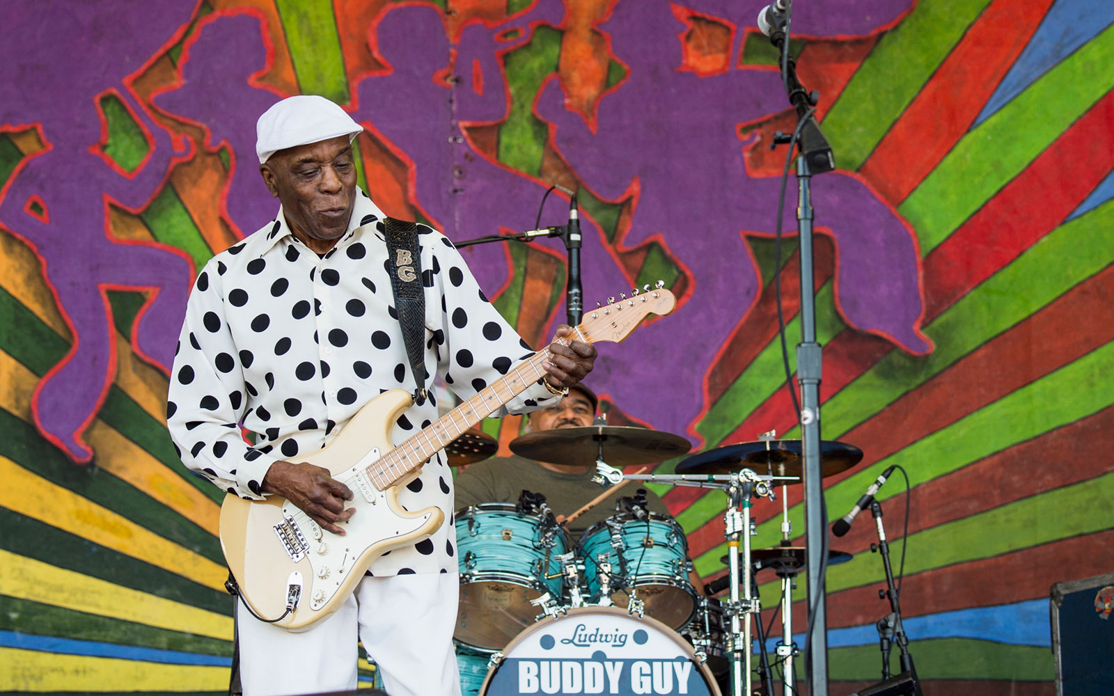Buddy Guy, New Orleans Jazz & Heritage Festival, New Orleans, Louisiana