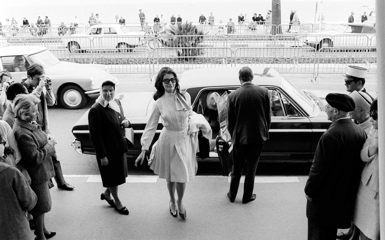 Sofia Loren at the Cannes Film Festival