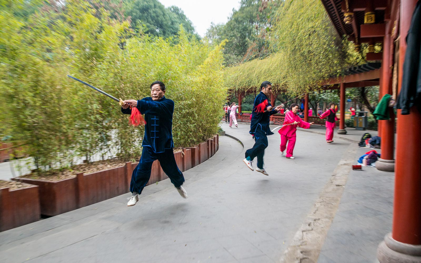 Tai Chi at People's Park