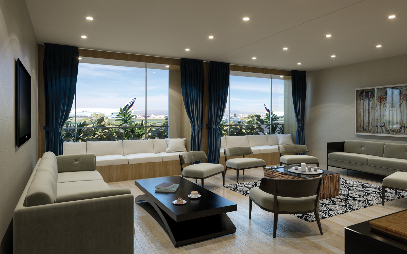 The Private Suite is a new luxury terminal at LAX for VIPs only.