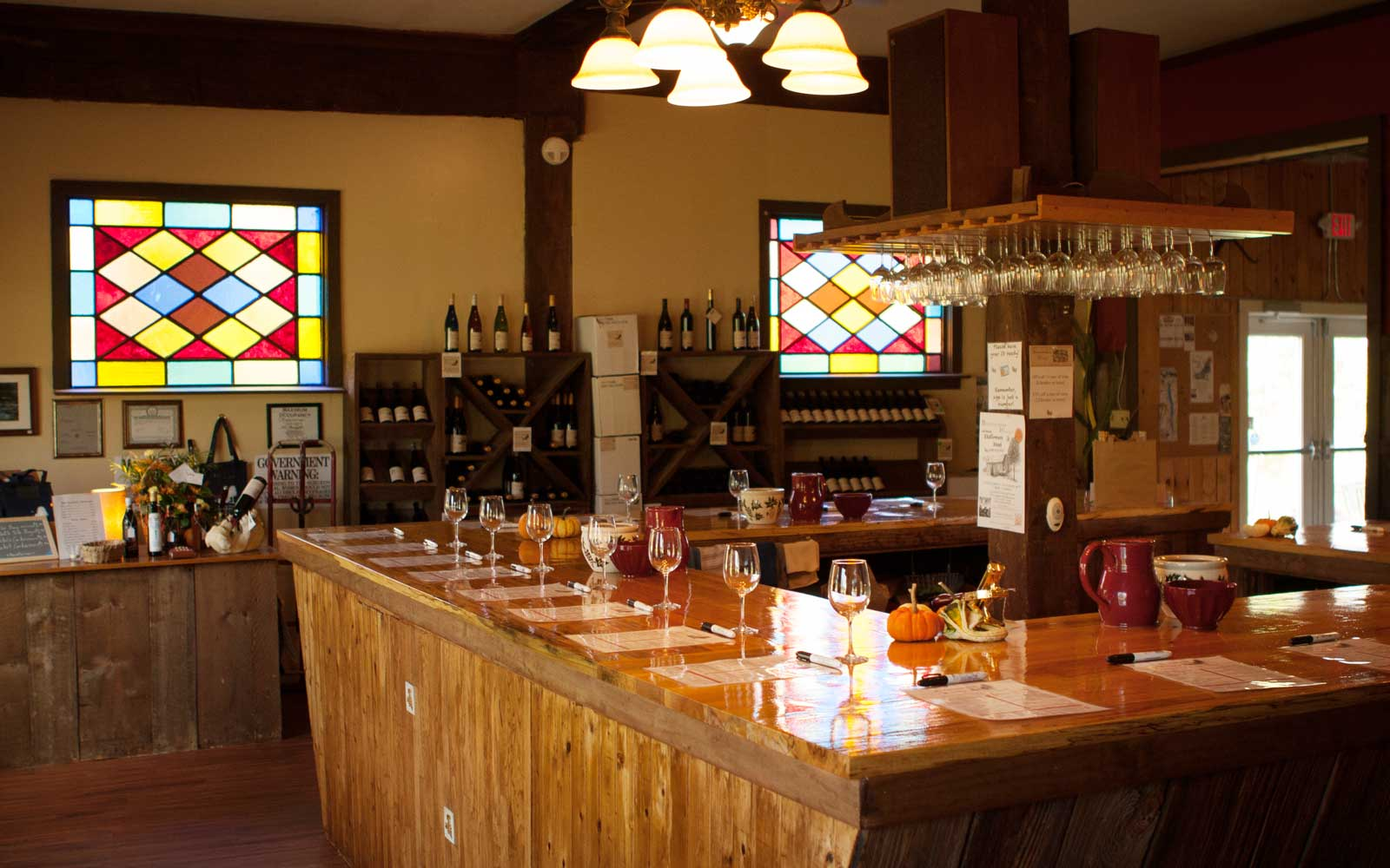 Wine Tasting Rooms in New York