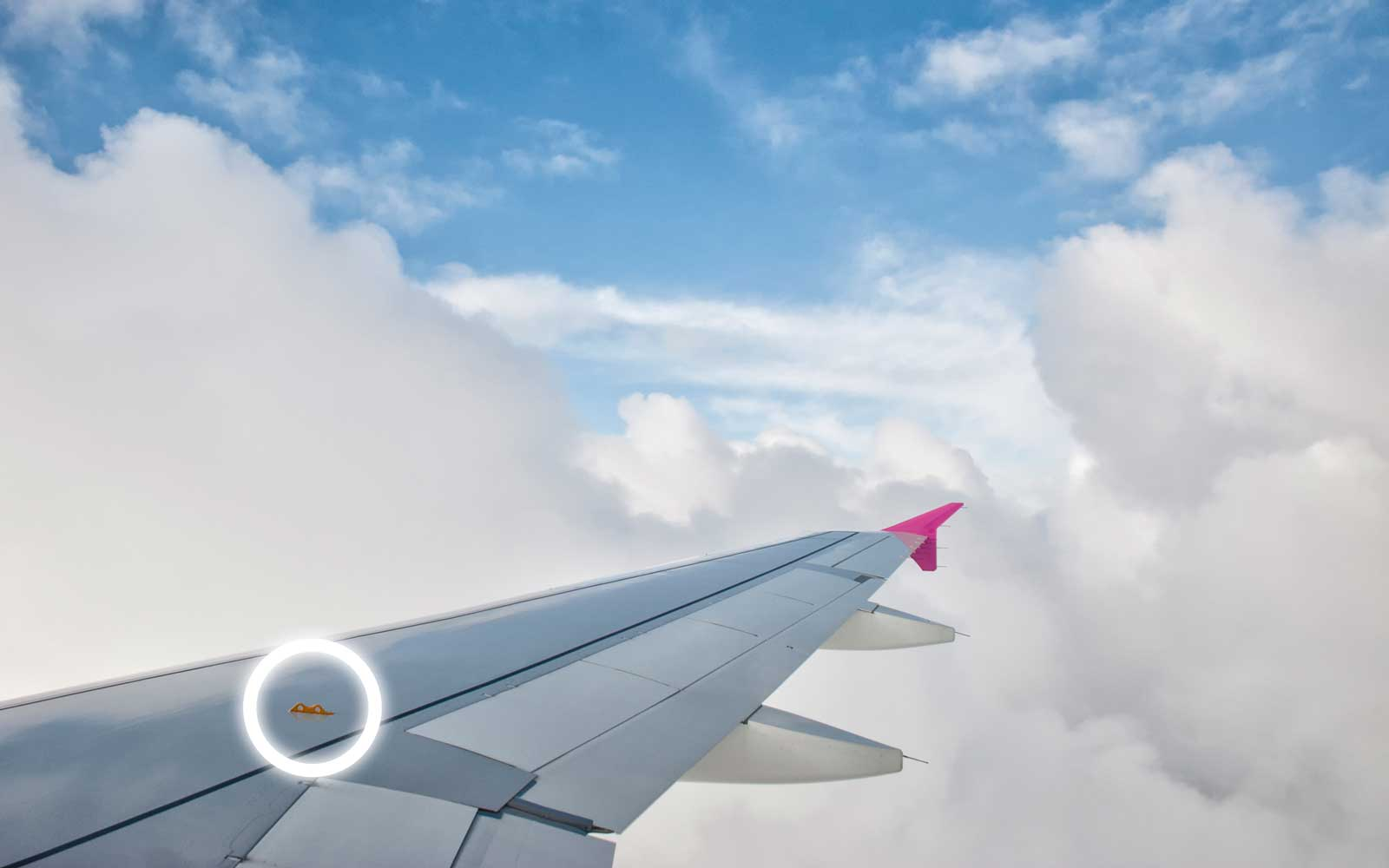 Wing above the clouds. clouds wing plane Boeing sky height summer relax puffy clouds.