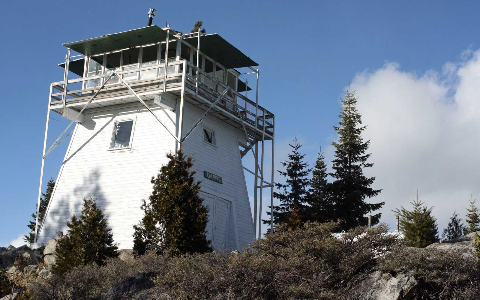 Calpine Fire Lookout in California