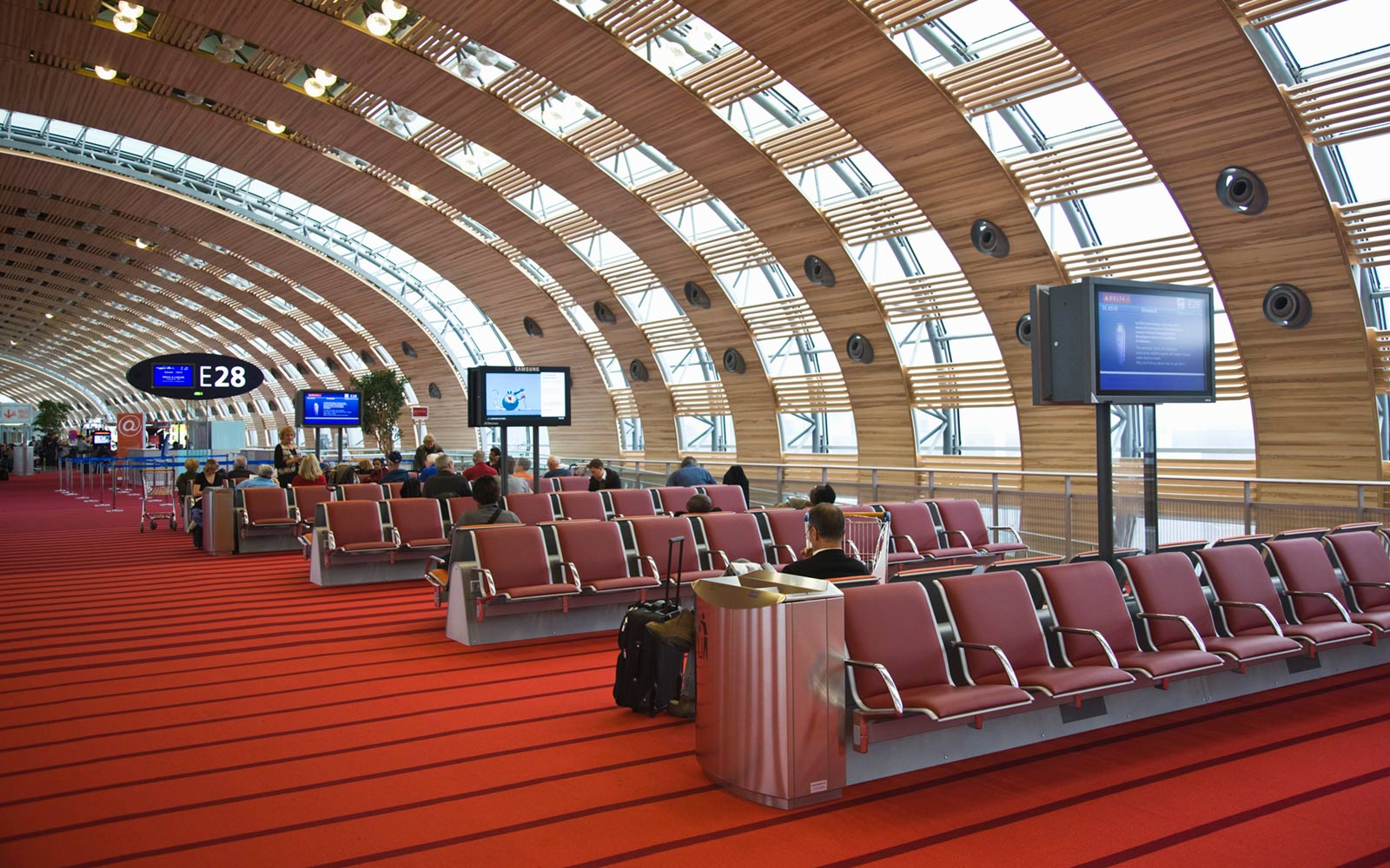 Charles de Gaulle Airport, Paris, France