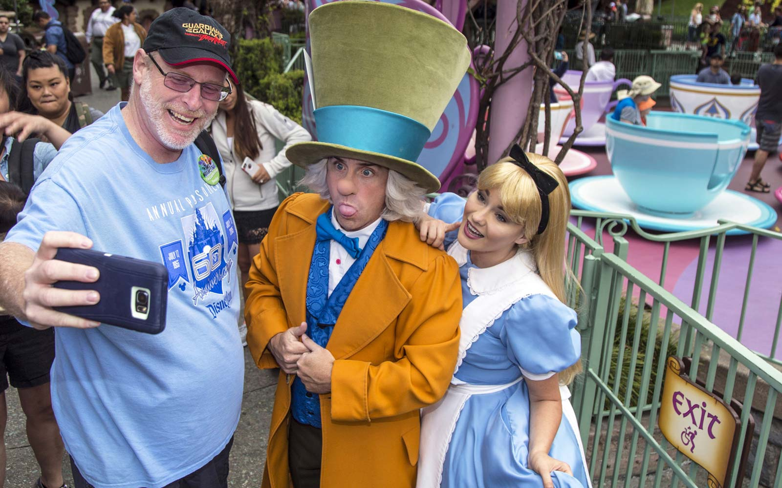 Huntington Beach resident Jeff Reitz, who has visited the parks of the Disneyland Resort every day since January 1, 2012