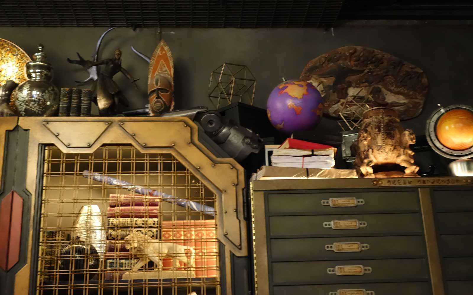 Disneyland Guardians of the Galaxy Mission Ride Eggs