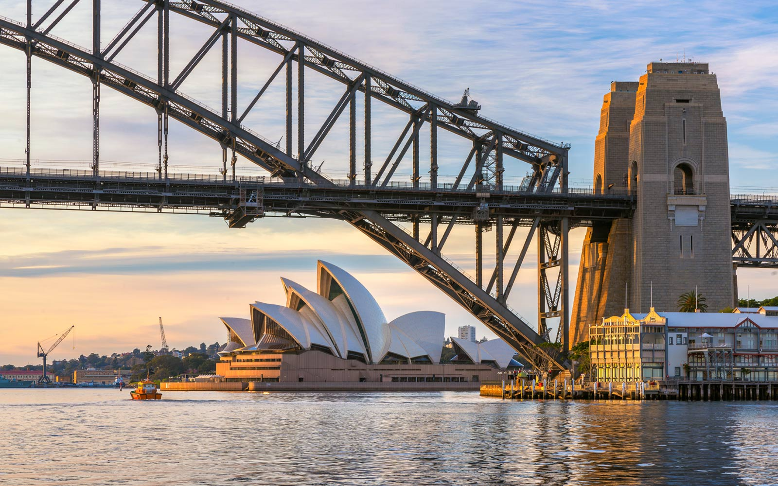 Harbour Bridge and Opera House, Sydney, Australia