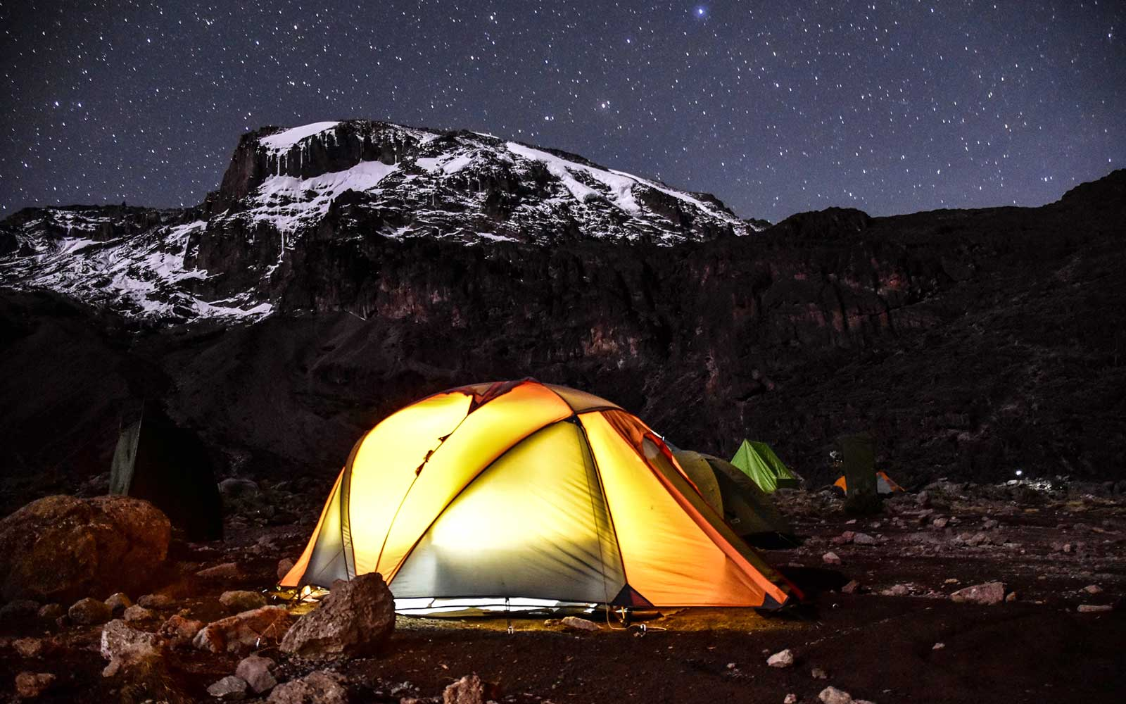 Hike and camp on Mount Kilimanjaro