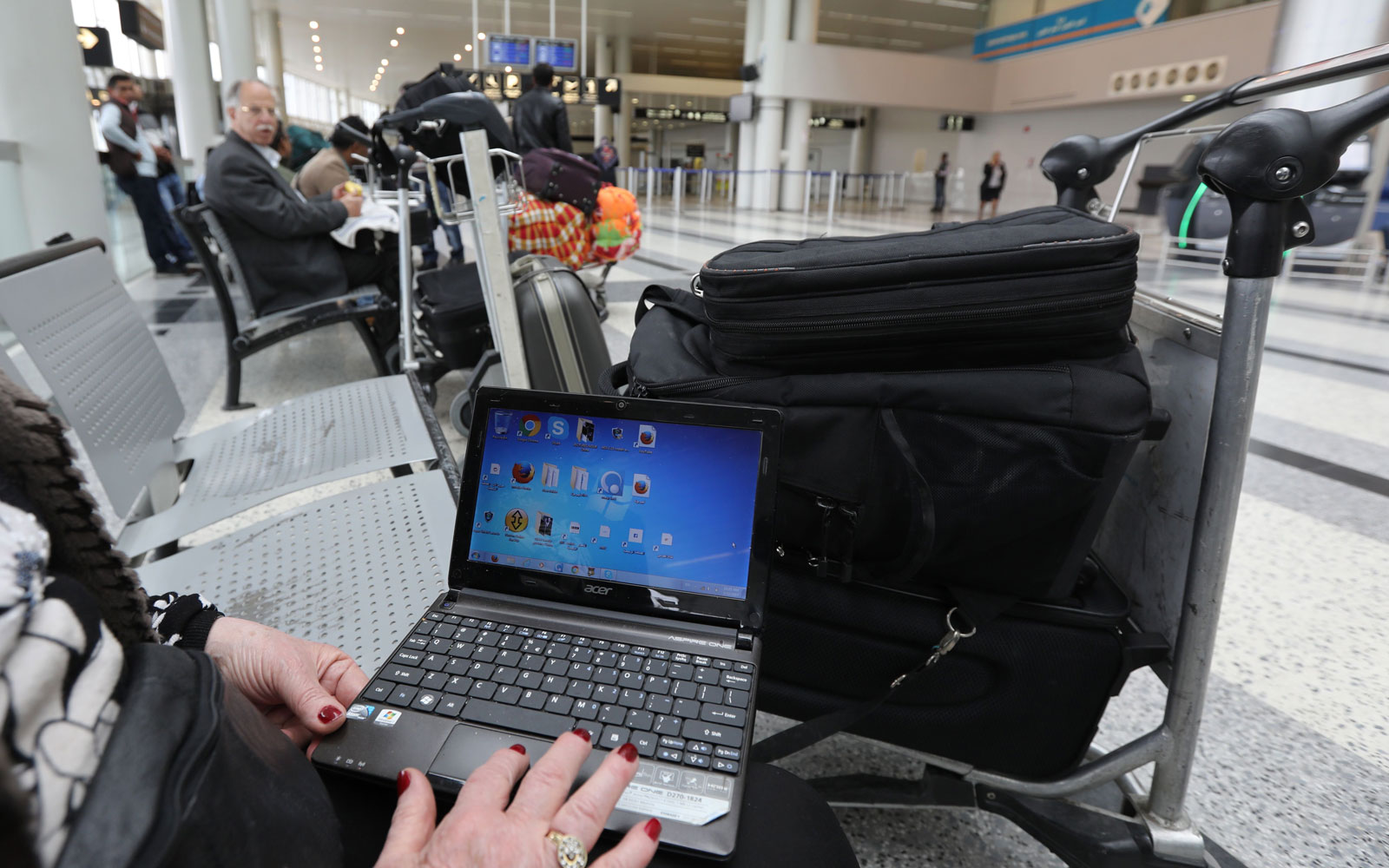 Laptop airport