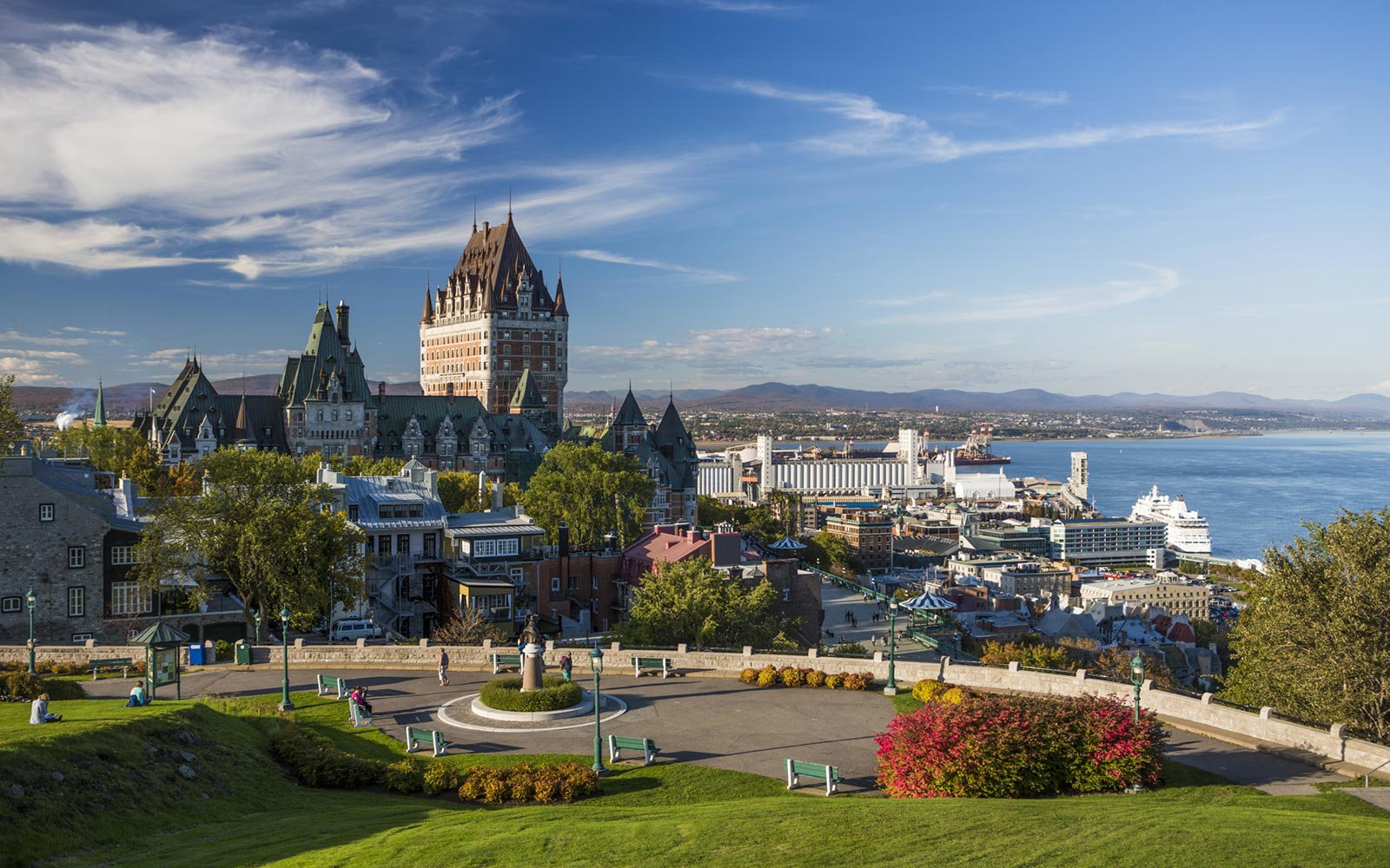 Chateau Frontenac Castle, Quebec City, Quebec, Canada