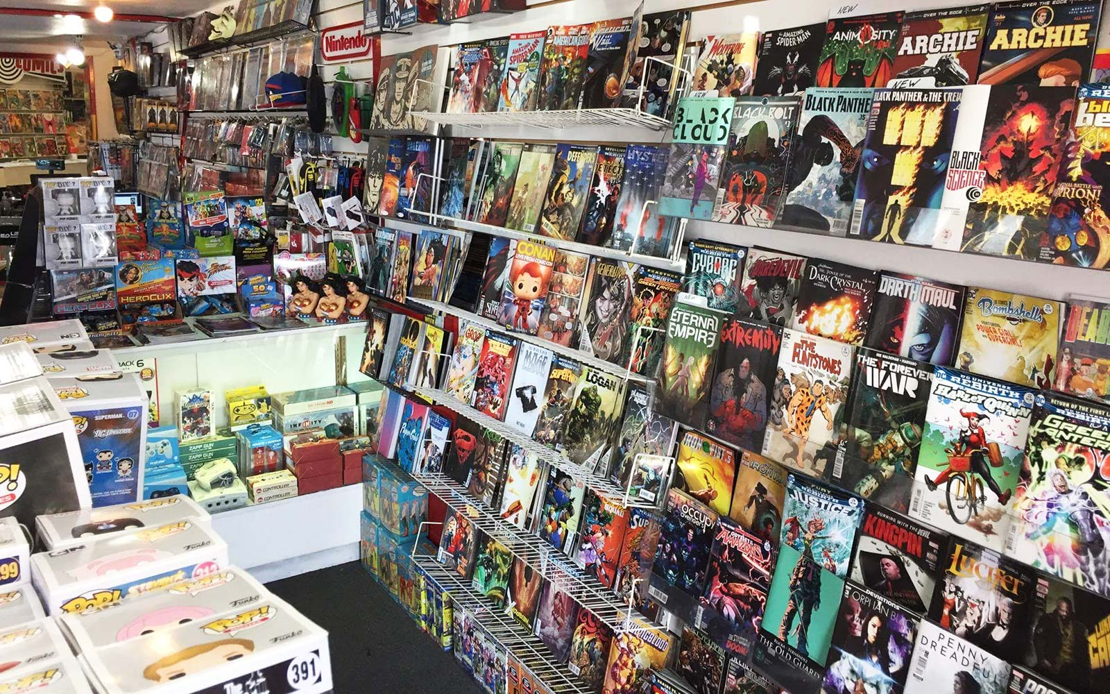 Hypno Comics Ventura California