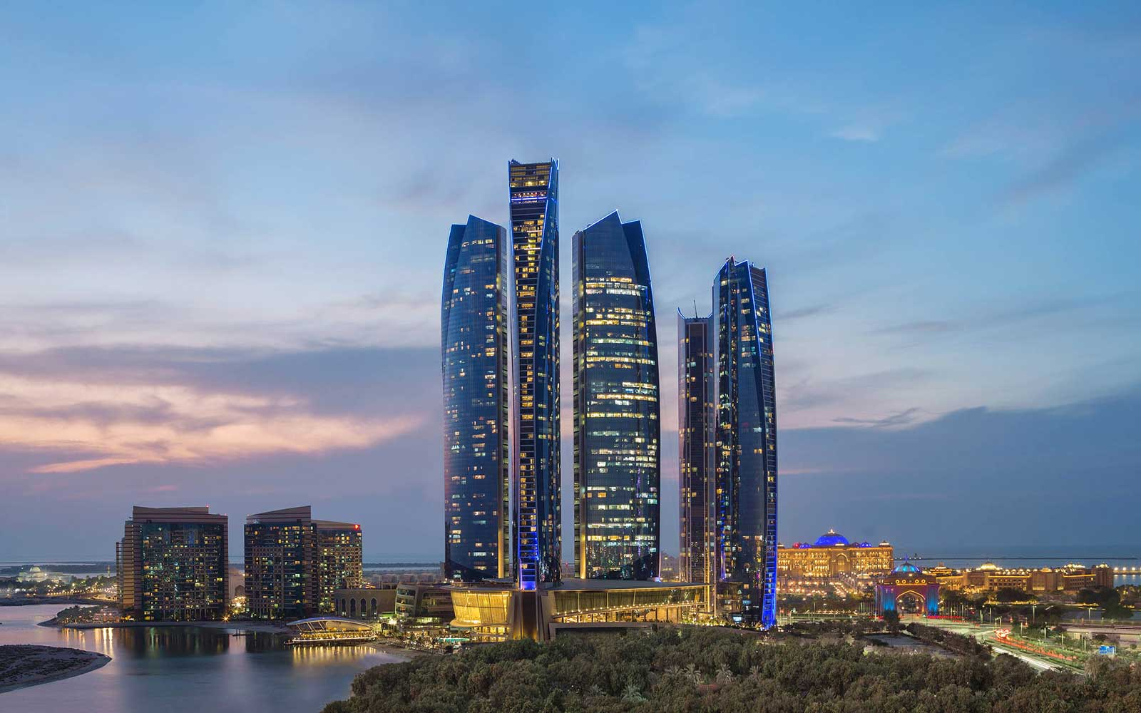 Jumeriah at Etihad Towers Hotel in North Africa and Middle East