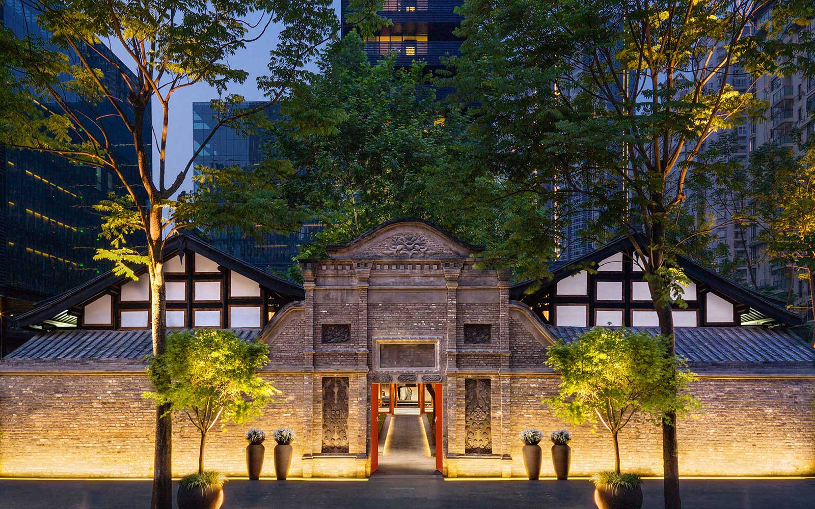 Temple House Hotel in Asia