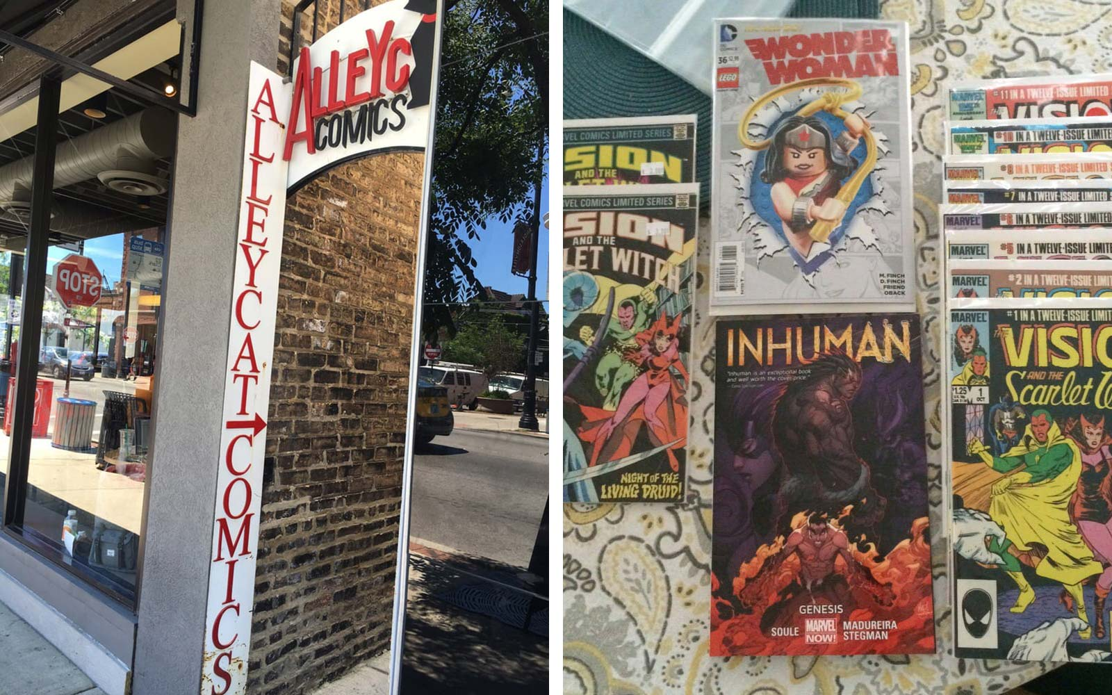 AlleyCat Comics Chicago Illinois