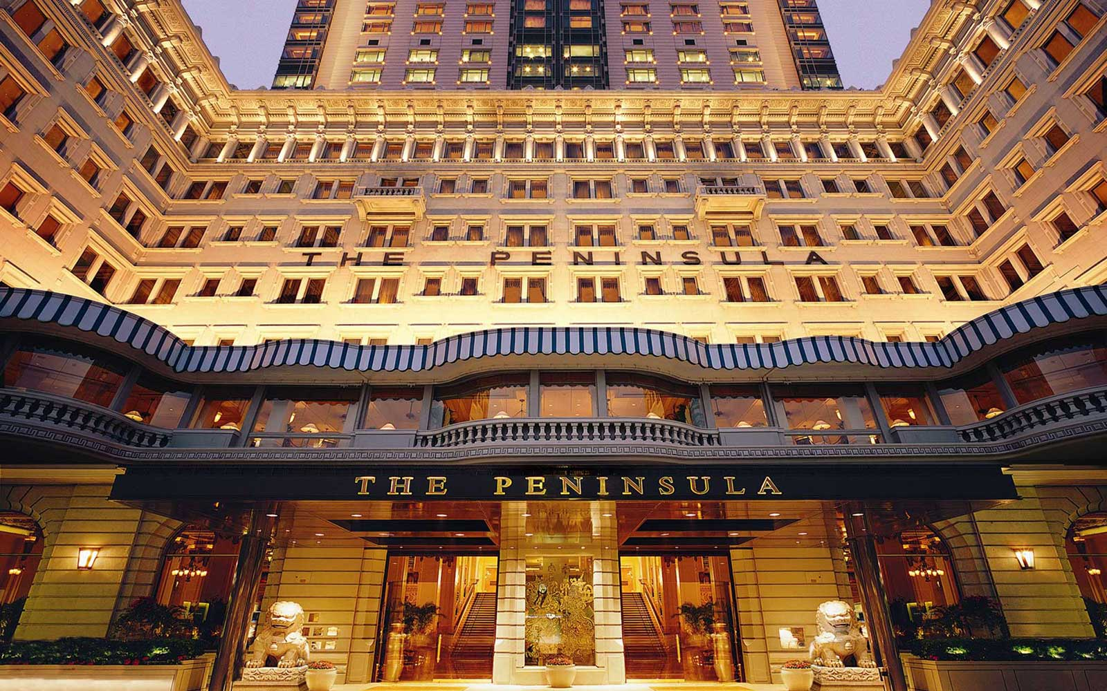 The Peninsula Hong Kong Hotel in Asia