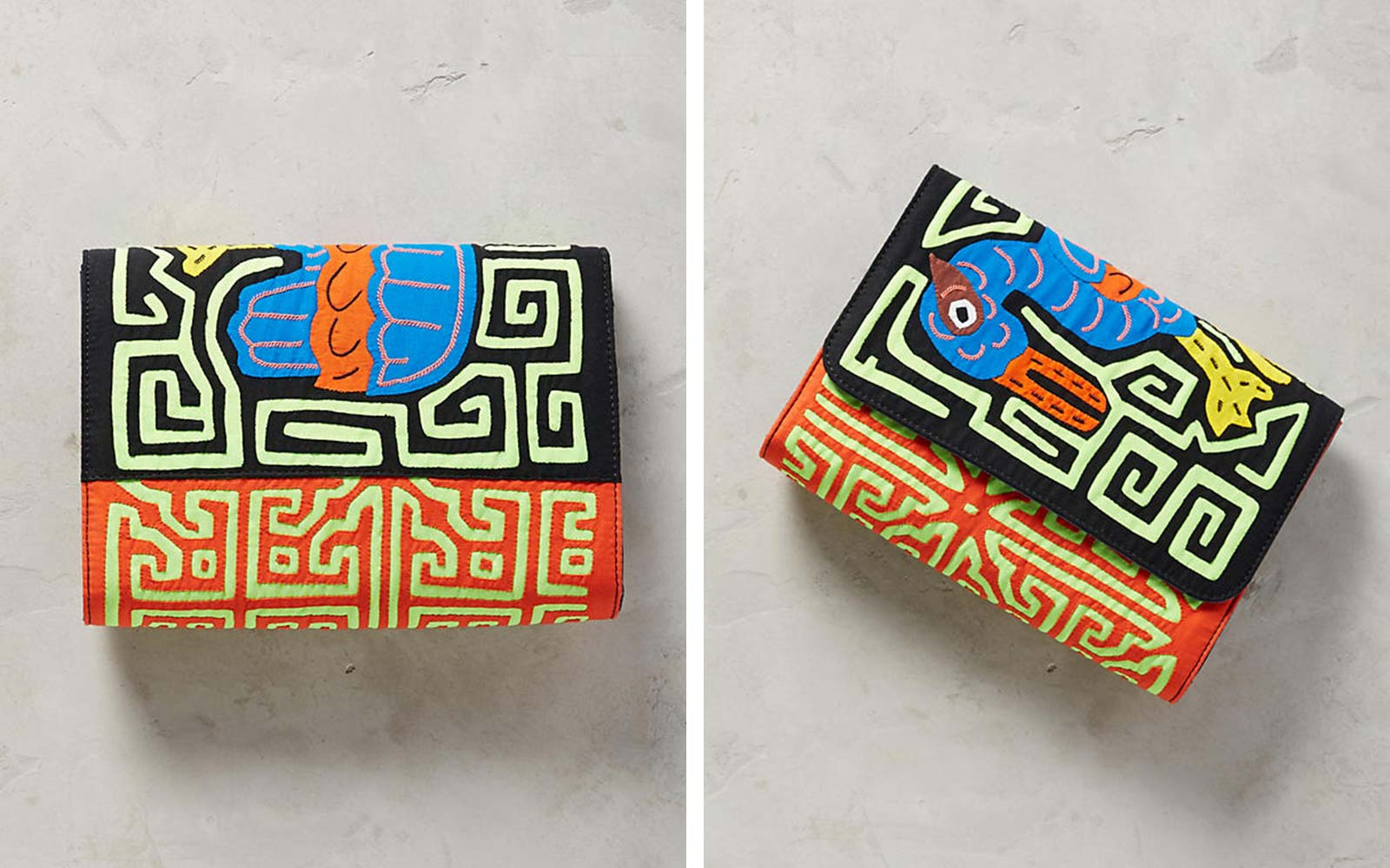 Anthropologie Pattern Wallet