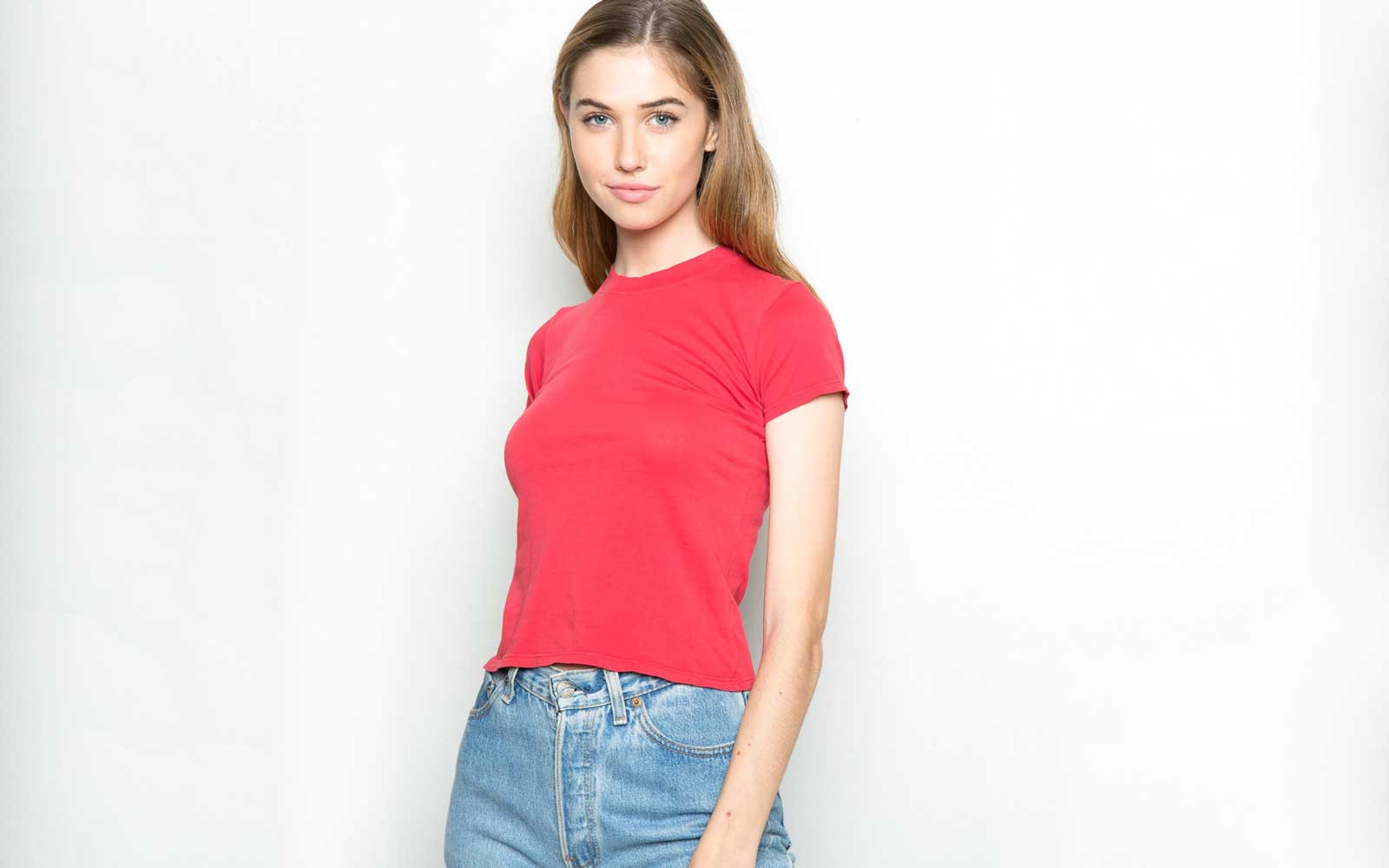 Brandy Melville Solid Tee Shirts