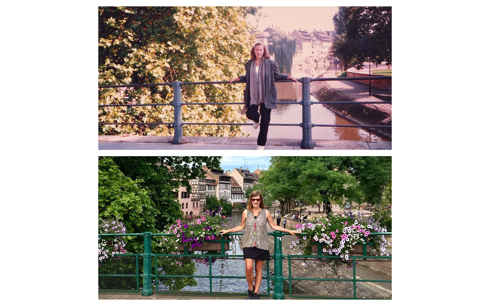 Lisa Werner Recreate Study Abroad Photos Strasbourg France