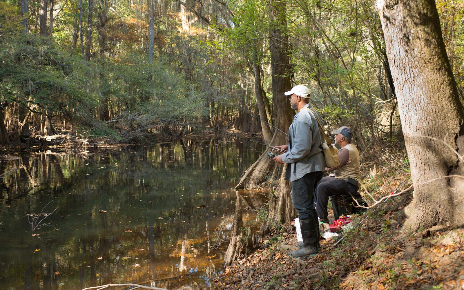 Fishing, Congaree National Park, South Carolina