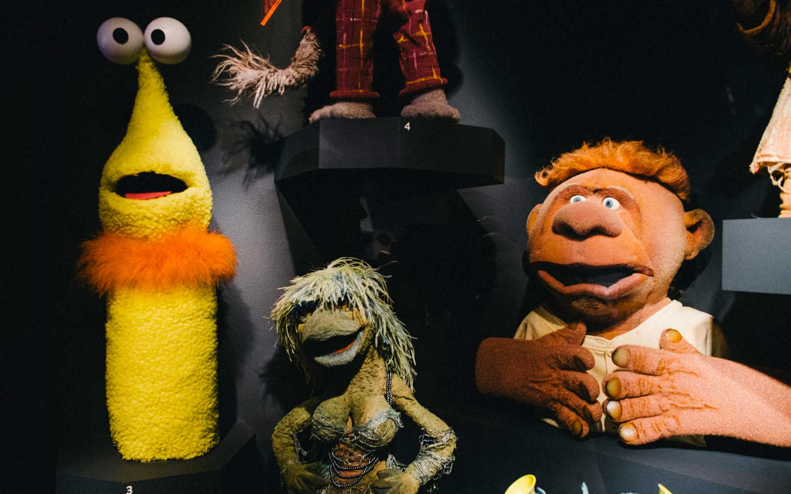 Jim Henson Exhibit at Museum of Moving Image