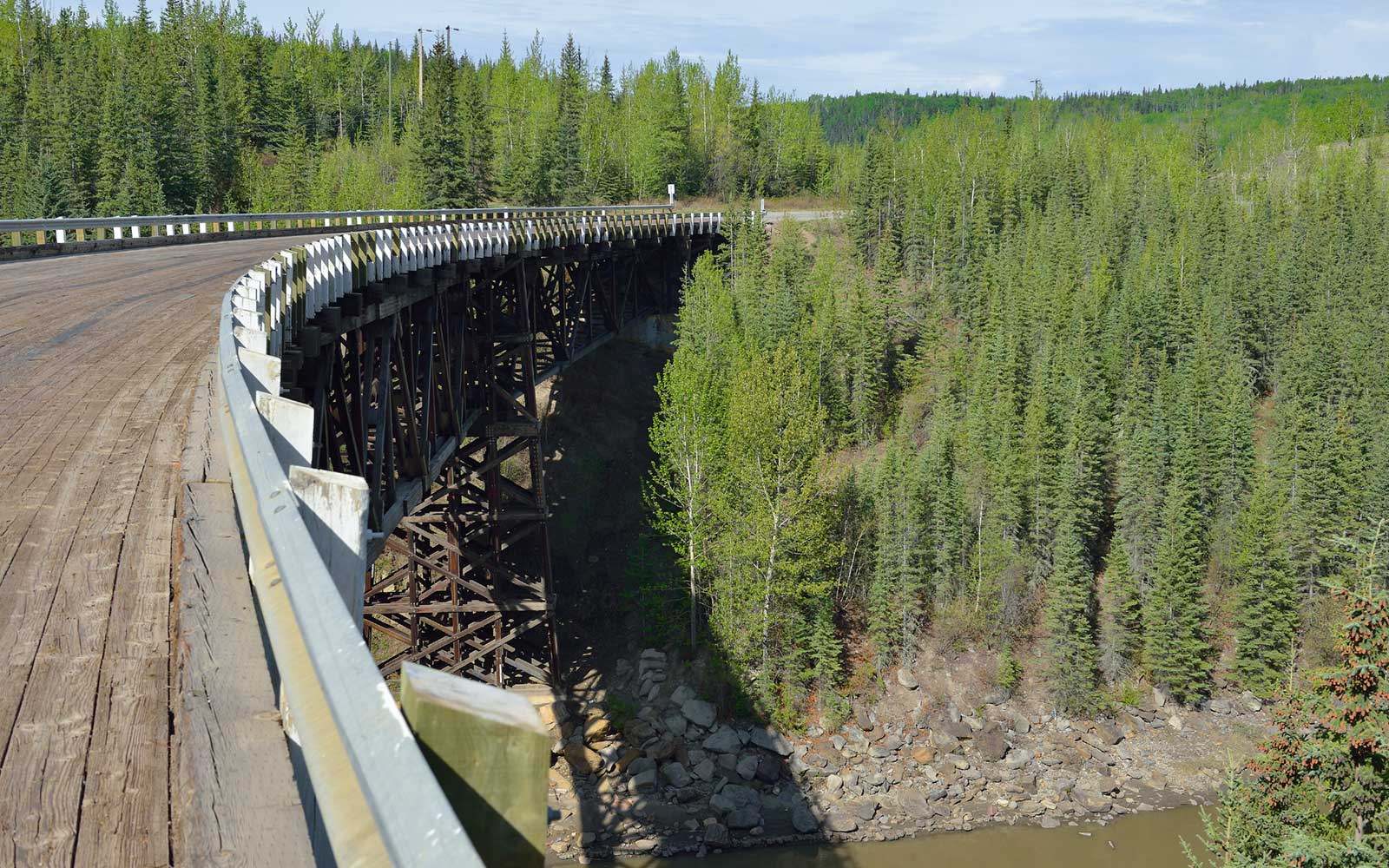 Kiskatinaw Bridge, British Columbia, Canada