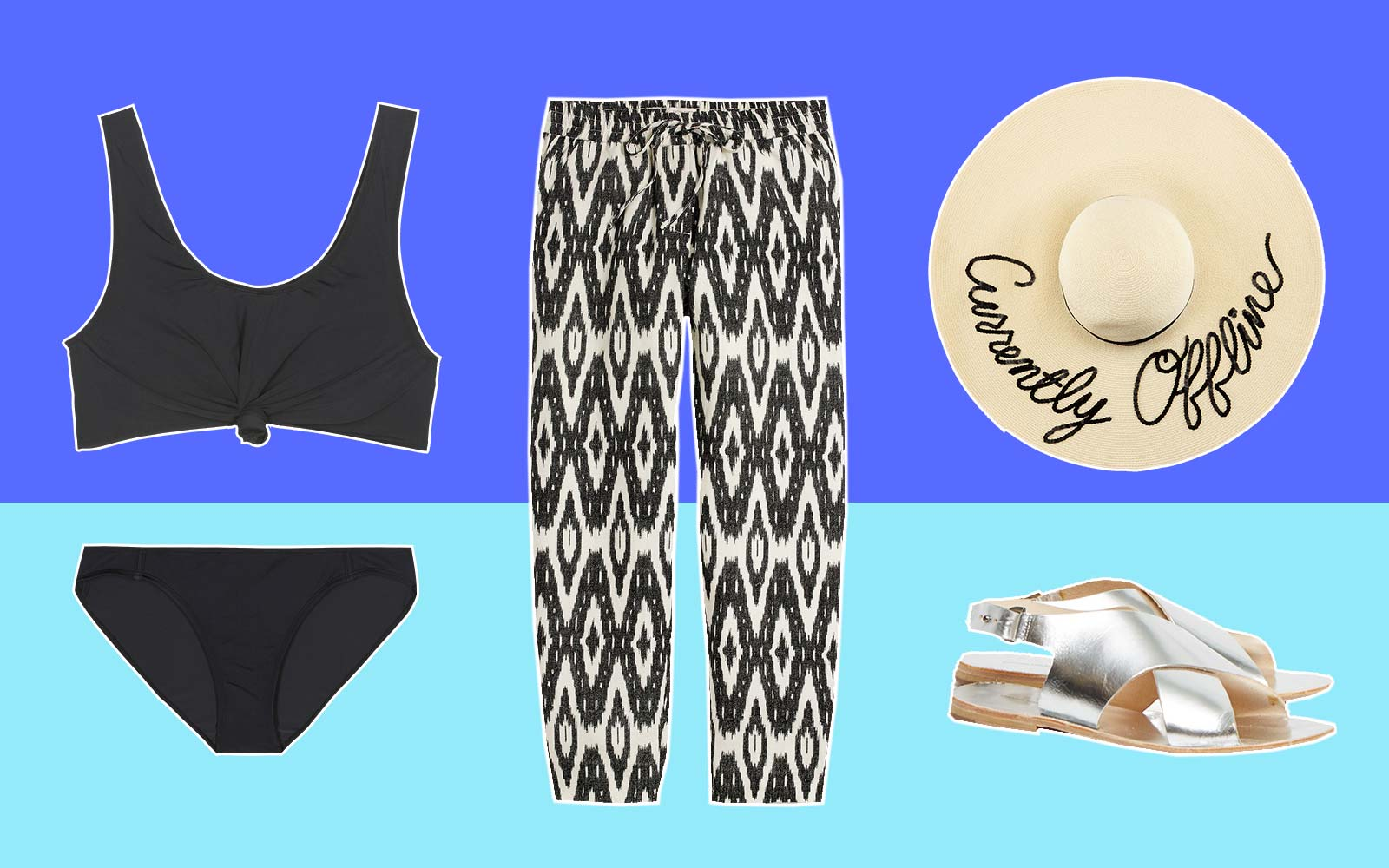 Swimsuit Style Fashion Out of Office Casual