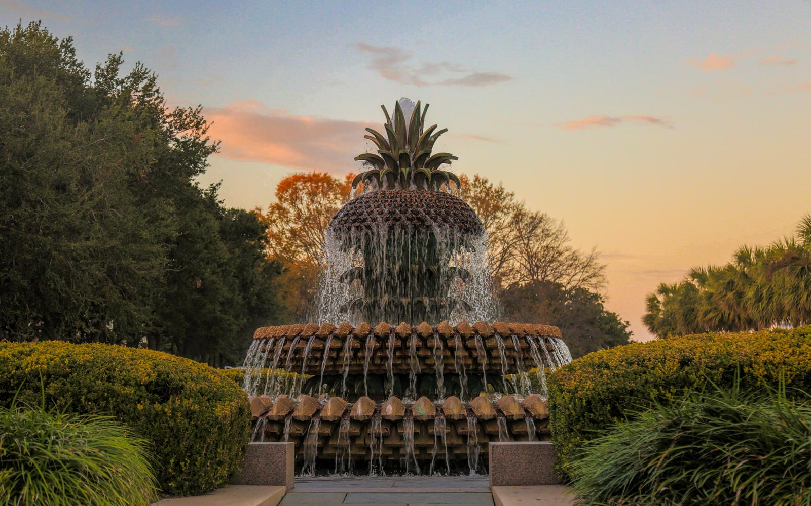 Pineapple Water Fountain, Charleston, South Carolina